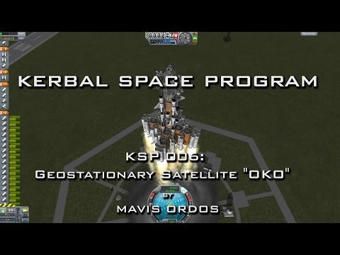 "KSP-006: Geostationary Satellite ""OKO"""