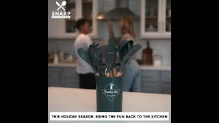 SharpKitchen Holiday Ad