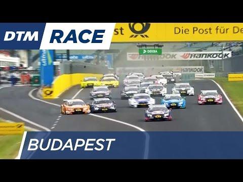 Dramatic Start of Race 2 - DTM Budapest 2016