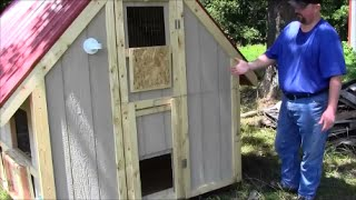 Our New Chicken Coop & Walkthrough