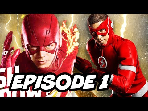 Download Youtube: The Flash Season 4 Episode 1 New Flash Suit Reaction