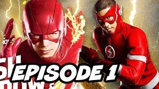 The Flash Season 4 Episode 1 New Flash Suit Reaction