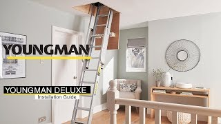 How to install the Youngman Deluxe 2 Section Aluminium Loft Ladder