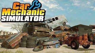 "Car Mechanic Simulator | Console Gameplay Live! | ""rebuilding A Car From Scratch!"""