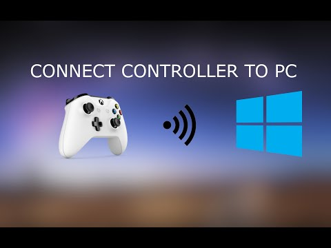 Connect XBOX One Controller To PC Bluetooth (Wirelessly)