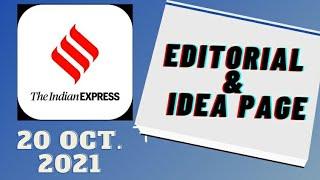 20th October 2021 | Gargi Classes Indian Express Editorial Analysis/Discussion