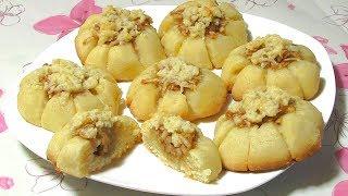 Домашнее Печенье / Начинка Из Яблок С Корицей / Cookie Recipe With Apple Cinnamon Filling