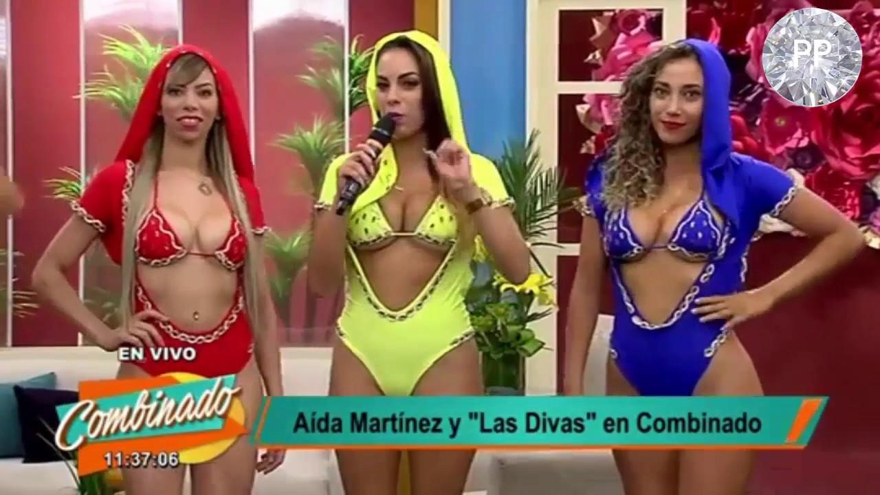 Aida Martinez Desnudo Porno aida martinez y las divas en combinado - vedettes del peru