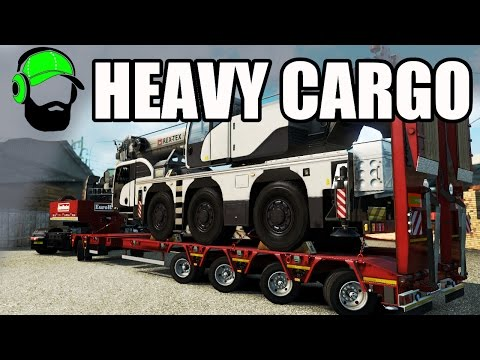 Euro Truck Simulator 2 - Heavy Cargo Pack DLC  - That's awesome! - #ETS2