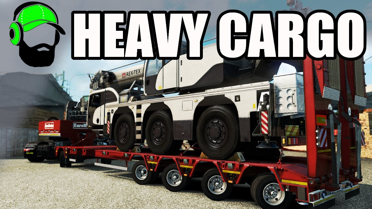 euro truck simulator 2 heavy cargo pack dlc that 39 s awesome ets2 youtube. Black Bedroom Furniture Sets. Home Design Ideas