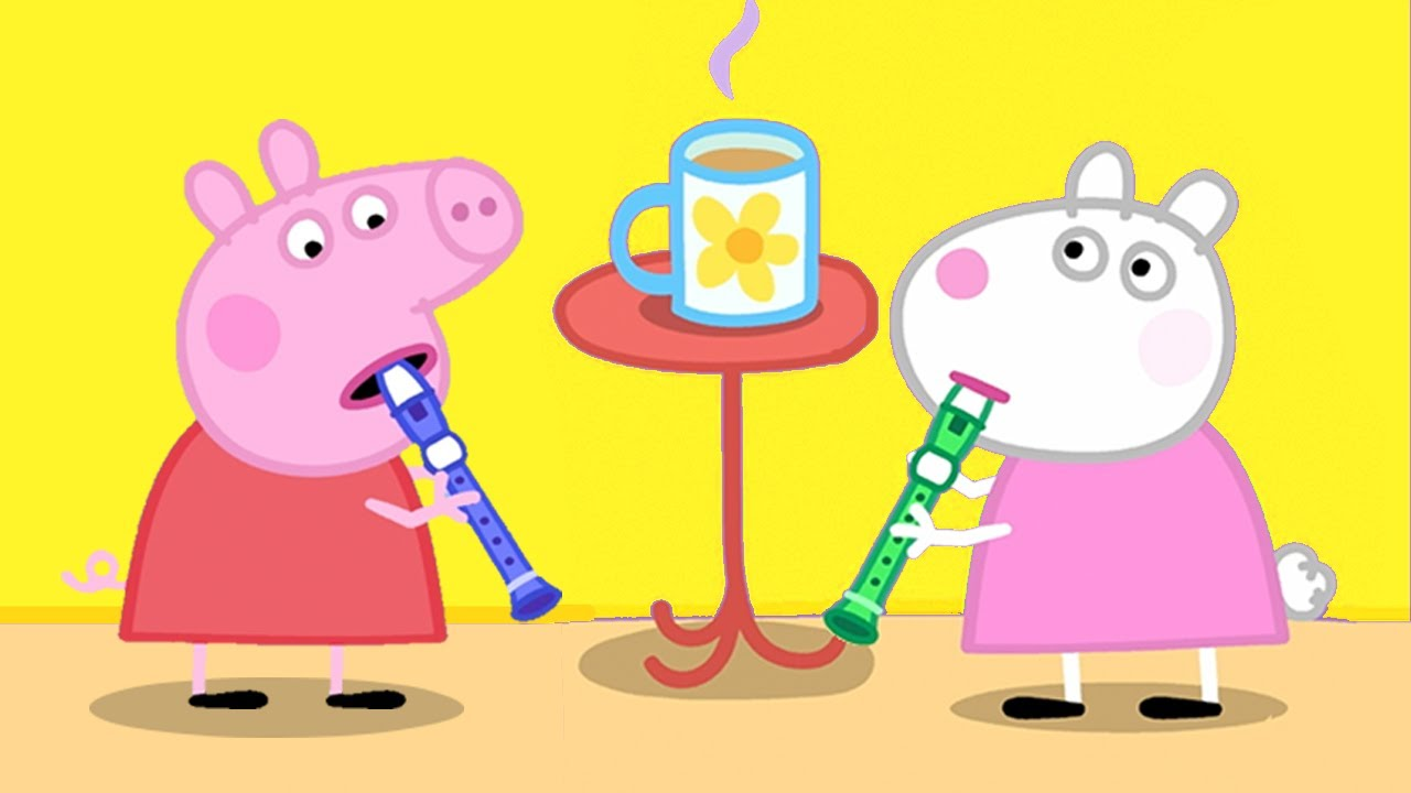 Peppa Pig Official Channel ? Peppa Pig Learns How to Play Music