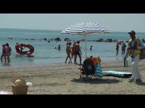 The Lido Beach Venice Italy