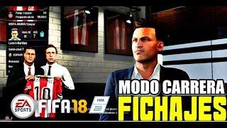 FIFA 18 Modo Carrera Manager | ¡MERCADO DE FICHAJES! ¡El nuevo Girona ME ILUSIONA MUCHO!! Cap.#7