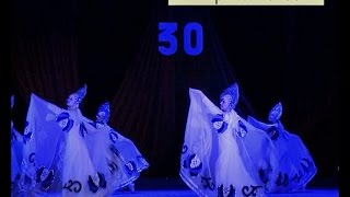 «Сказочная гжель» народного ансамбля танца «Светлячок». Новозыбков, март 2017 г.