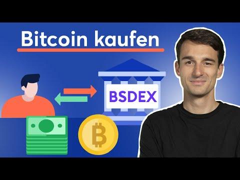 Bitcoin kaufen: Schritt-für-Schritt Anleitung mit BSDEX (Börse Stuttgart Digital Exchange)