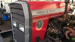 5900 DI TAFE   PD पावर stering 4 सिलेंडर tractor ।