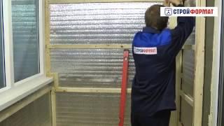 Отделка стен вагонкой ПВХ на лоджии(, 2014-04-24T19:11:35.000Z)