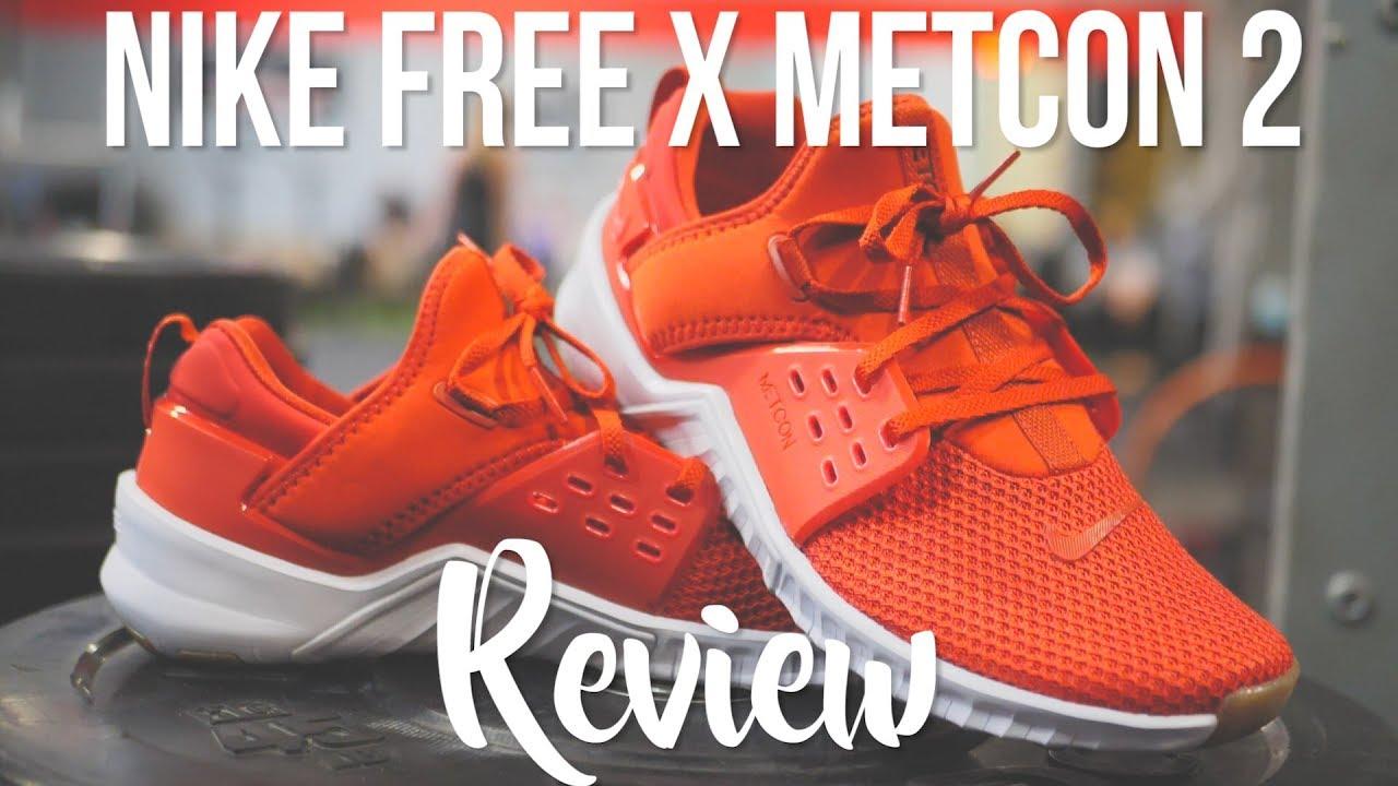 sale retailer 59431 93f72 NIKE FREE X METCON 2 FULL REVIEW! (CrossFit Shoe of 2019 )