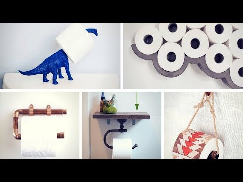 🌼 15 DIY Toilet Paper Holders 🌼