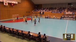 2019年IH ハンドボール 男子 準々決勝 香川中央(香川)VS 神戸国際大附(兵庫)