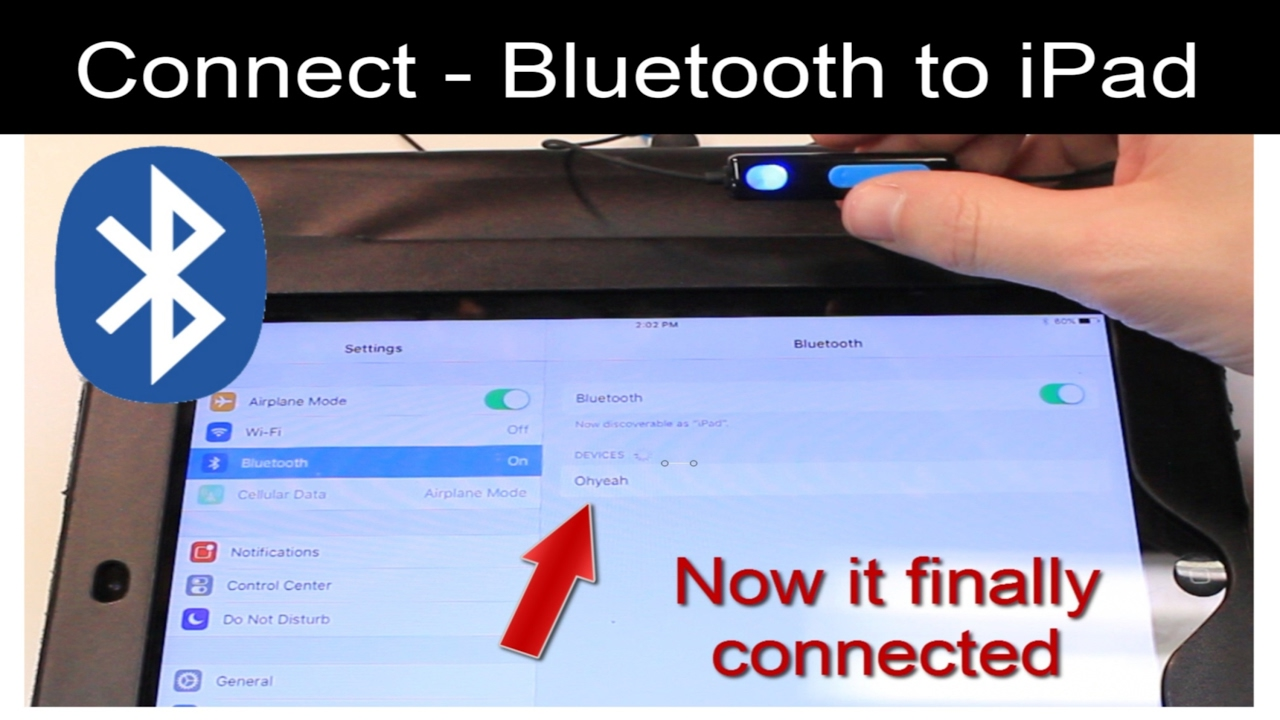 Bluetooth not Working on Apple iPad, iPhone, iPod - Won't Connect