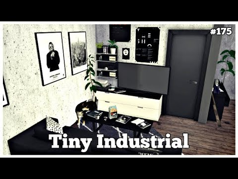 Les Sims 4 | DECO & CO #175 | TINY INDUSTRIAL APARTMENT