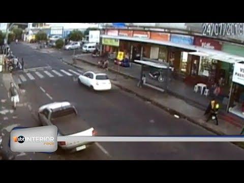 Imagens de circuito de segurança vão ajudar na investigação de atropelamento em Rio Preto