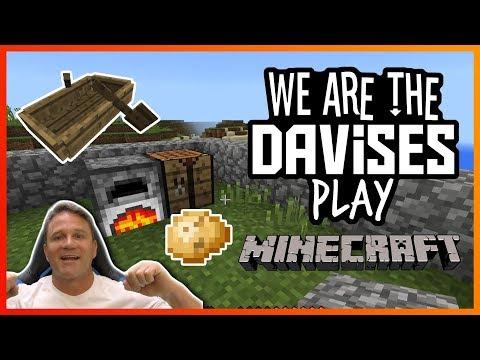 I Found Maui's Home | Minecraft EP-3 | We Are The Davises Gaming
