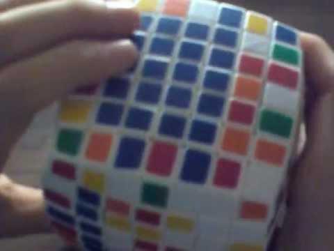 Как собрать кубик рубика 7х7х7