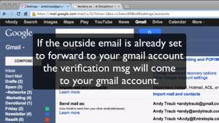 How can I combine several email accounts into one Gmail account