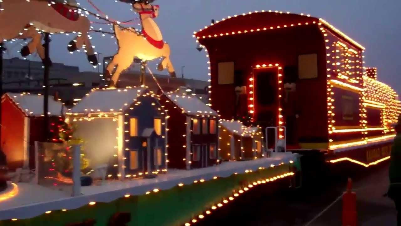 Christmas Train at Kansas City Union Station - YouTube