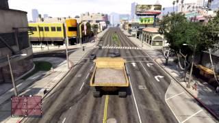 Gta 5 dumptruck cop chase