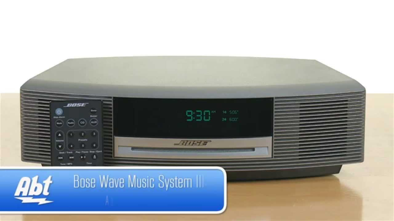 Bose Wave Music System III - Overview