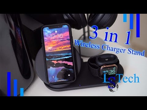 Wonsidary Stand for Apple Watch iPhone Airpods