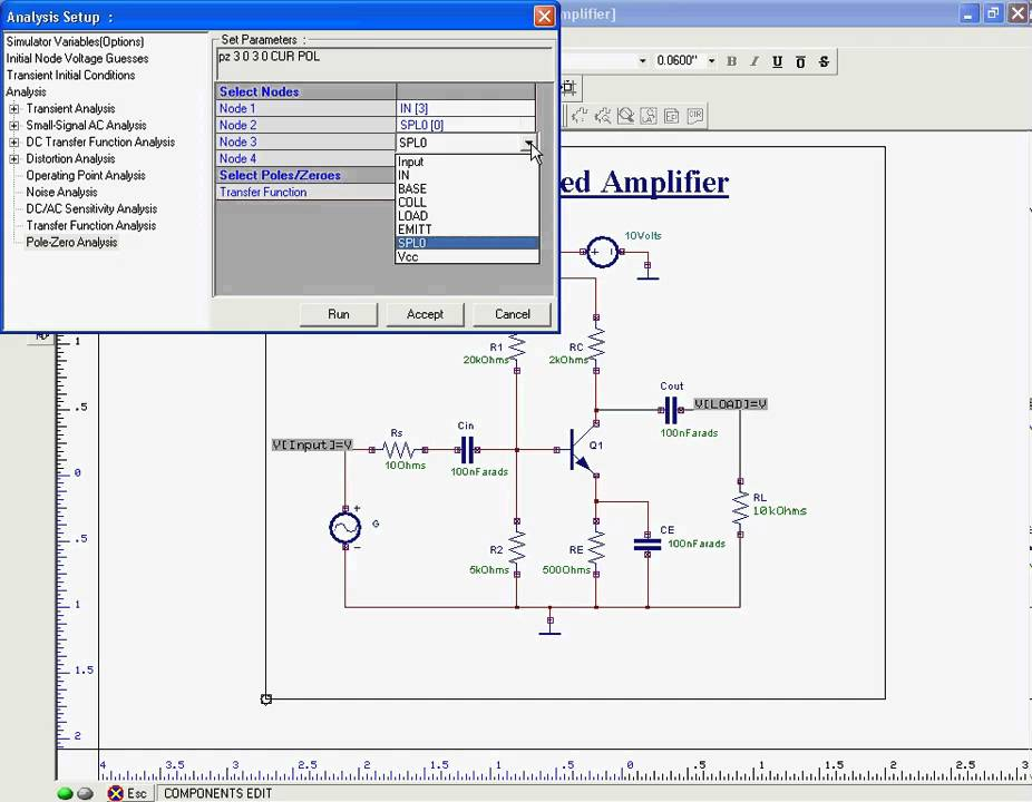 small signal analysis of bjts Basic single bjt amplifier features  common base small signal analysis - c in determine c in: find a equivalent impedance for the input circuit, r s, c in.