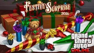 GTA Online: ОБНОВЛЕНИЕ «Праздничный сюрприз 2016» / СНЕГ В ИГРЕ (Обзор) !!!