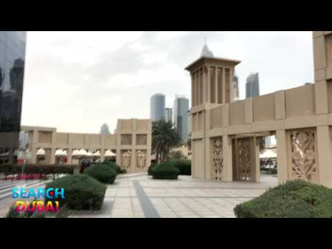 Walking in Dubai Media City
