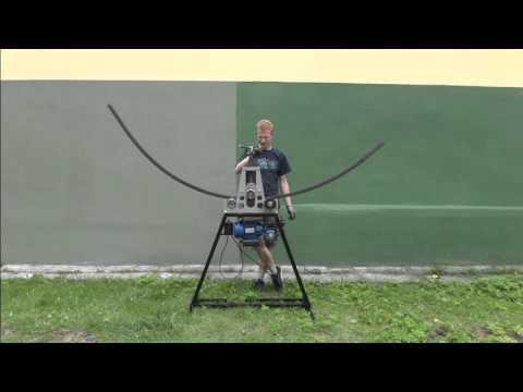Modish Giętarka do rur, profili, płaskowników - YouTube PK01