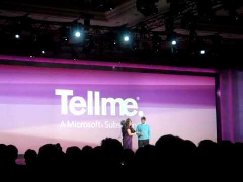 TellMe Service from Microsoft