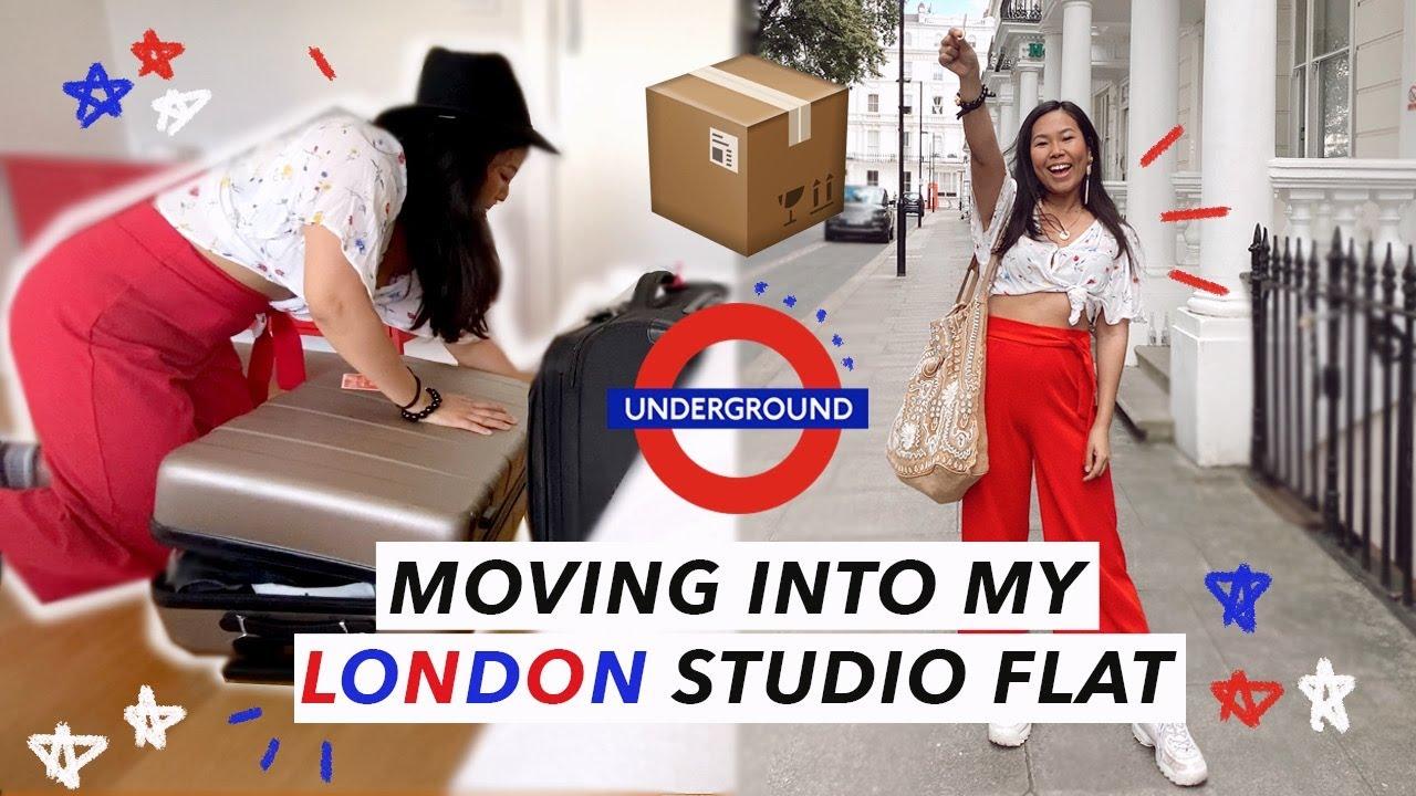 Moving into My London Studio Flat!!!