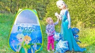 Принцесса ЭЛЬЗА История про Холодное сердце Disney Frozen Elsa and Anna Приключения для детей