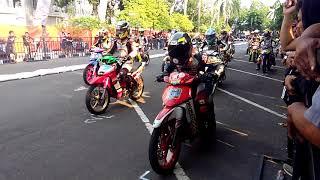 Road race BOJONEGORO 2018 ricuh