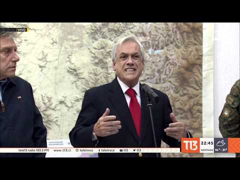 "Presidente Piñera: ""Estamos"