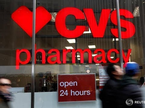 Largest corporate acquisition 2017: USA drugstore chain operator CVS Health merge with Aetna