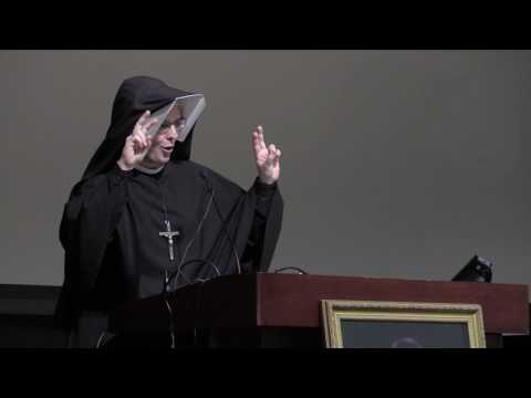 Sr. Gaudia Skass, OLM at the Healthcare Conference