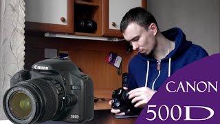 Canon EOS 500D. Пару слов о камере и видеосъемке.(Всем дарова. В данно видео рассказываю о зеркальном фотоаппарате Canon EOS 500D. Говорю о плюсах и минусах фотоапп..., 2016-04-07T18:45:40.000Z)