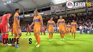 FIFA 18 | Campeones Cup Final | Toronto FC vs Tigres UANL | Gameplay PS4