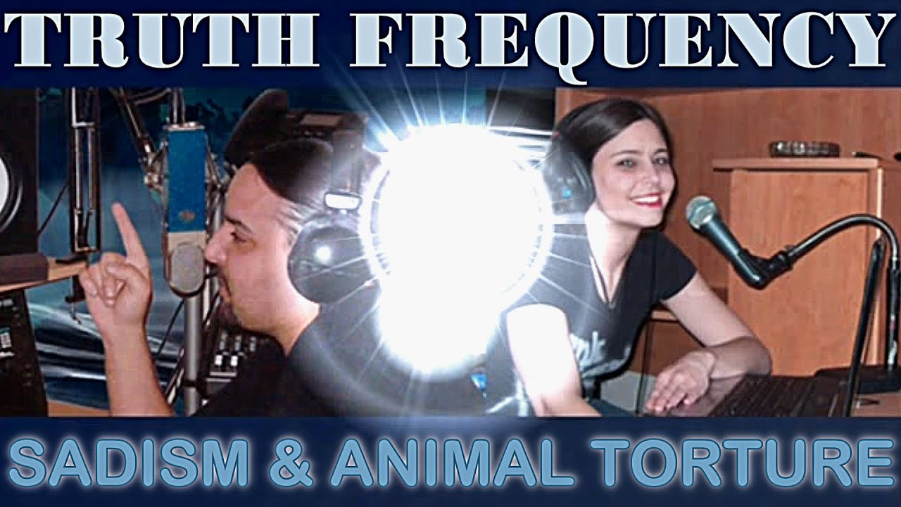 THE DARK SADISM BEHIND ANIMAL TORTURE - Chris & Sheree Geo (TRUTH FREQUENCY)