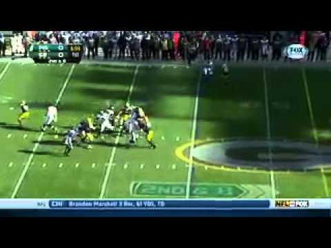 Scott Tolzien of Green Bay Packers in at QB for injured Seneca Wallace   ESPN 3