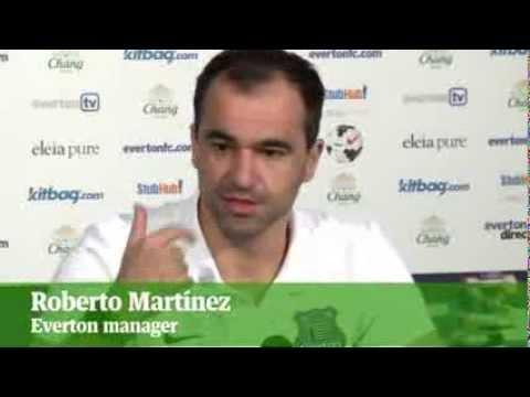 Everton v West Ham: Roberto Martínez and Sam Allardyce admit Romelu Lukaku